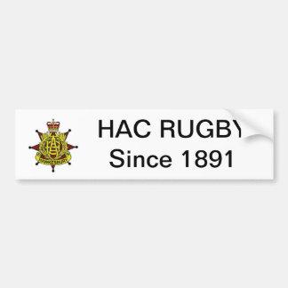HAC Rugby Bumper Sticker