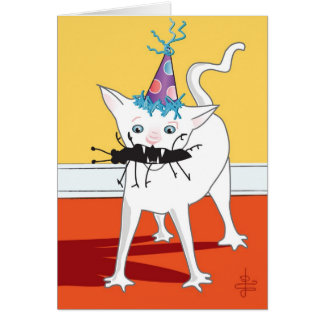 """Hacchhy Ngircchhgay""... Birthday Card"
