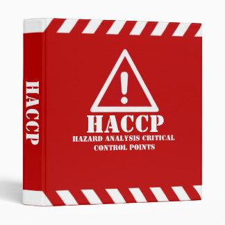 HACCP 3 RING BINDER