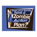 Hace a su familia tienen un plan de actuación del postal