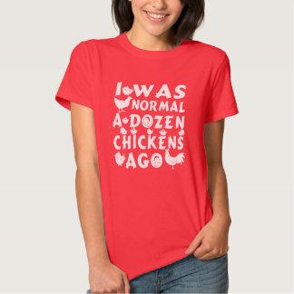 Hace docena pollos normales playeras