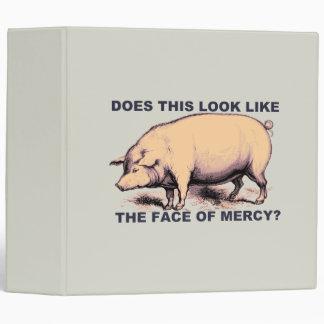 ¿Hace este parecer la cara de la misericordia?  Ce