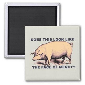 ¿Hace este parecer la cara de la misericordia?  Ce Imán Cuadrado