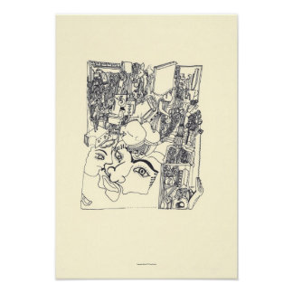 Hace fragmentos de d'Arts 1 poster archival del