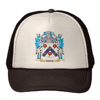 Hace frente el escudo de armas - escudo de la gorro de camionero