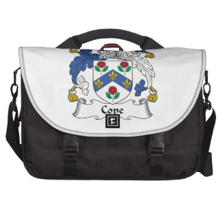 Hace frente el escudo de la familia bolsas para portatil