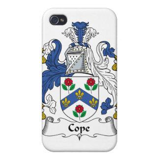 Hace frente el escudo de la familia iPhone 4 carcasas