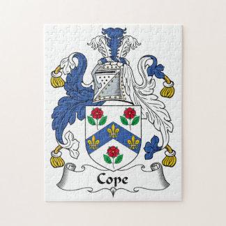 Hace frente el escudo de la familia puzzle con fotos