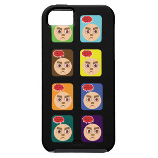 Hace no enojado ambiente del caso de Iphone 5/5S Funda Para iPhone SE/5/5s