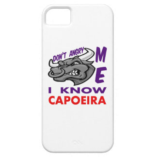 Hace no enojado, yo sabe Capoeira. iPhone 5 Carcasa