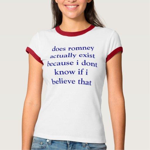 hace romney existen realmente porque no sé si poleras