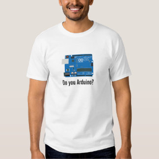 ¿Hace usted Arduino? Remera