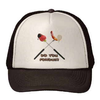 """¿Hace usted """"fondue""""? Gorros"""
