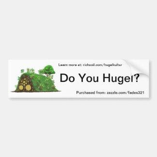 ¿Hace usted Hugel? Pegatina Para Auto