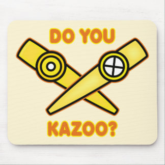 ¿Hace usted Kazoo? Alfombrillas De Ratones