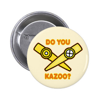 ¿Hace usted Kazoo? Pin