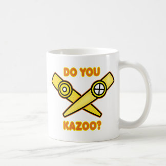 ¿Hace usted Kazoo? Taza Clásica