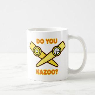 ¿Hace usted Kazoo? Taza De Café
