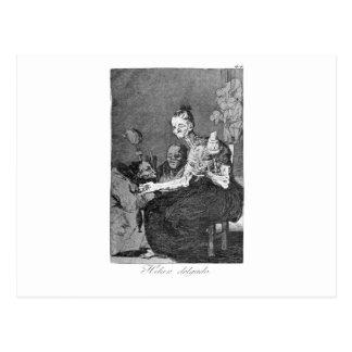 Hacen girar finalmente por Francisco Goya Tarjeta Postal