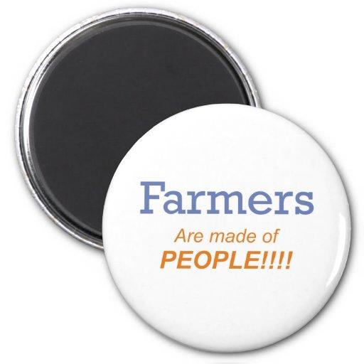 ¡Hacen los granjeros de gente!!! Imán De Nevera