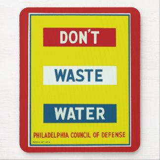 Hacen no las aguas residuales tapete de raton