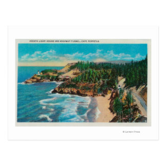 Hacenta Head Lighthouse and Cape PerpetuaCoast Postcard