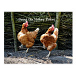 Hacer el Pokey de Hokey, los pollos del Pokey de Tarjeta Postal