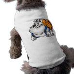 Hacer excursionismo el perro del dibujo animado ropa perro