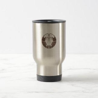 Hacer frente a las langostas espinosas taza de café
