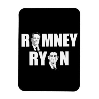 HACER FRENTE a ROMNEY RYAN WHITE.png Rectangle Magnet