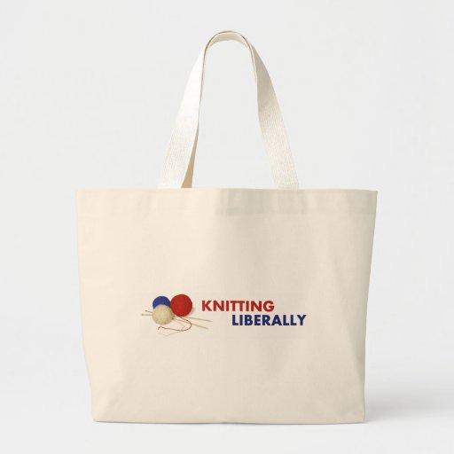 Hacer punto liberalmente - la bolsa de asas