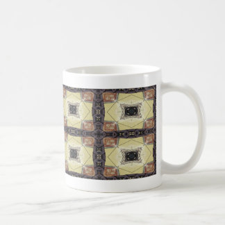 Haces de acero y hormigón taza de café