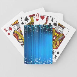 Haces de la estrella barajas de cartas