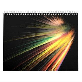 Haces luminosos calendario
