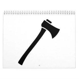 Hacha Calendario