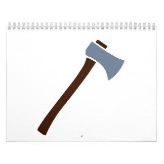 Hacha Calendarios De Pared