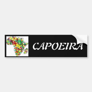 hacha de Angola del capoeira de la pegatina para Pegatina Para Auto