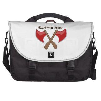 Hacha de la batalla bolsas para portatil