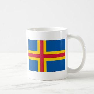HACHA de las islas de Åland Tazas De Café