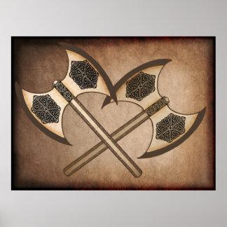 Hacha de Viking Impresiones