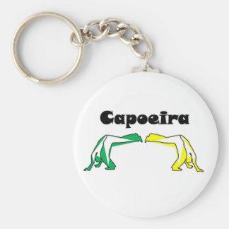 hacha el Brasil Angola del capoeira de la lucha Llavero Personalizado