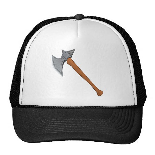 Hacha legendaria de la batalla gorras