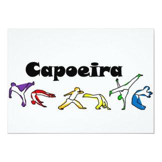hacha unida capoeira de la invitación invitación 12,7 x 17,8 cm