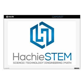 """HachieSTEM Symbol 17"""" Laptop Decal"""