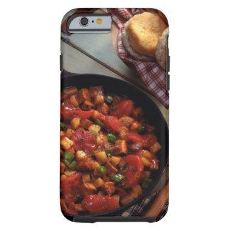 Hachís de la carne y de la patata con las galletas funda para iPhone 6 tough
