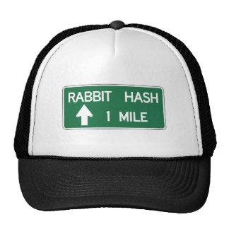 Hachís del conejo, marcador del camino, gorro de camionero