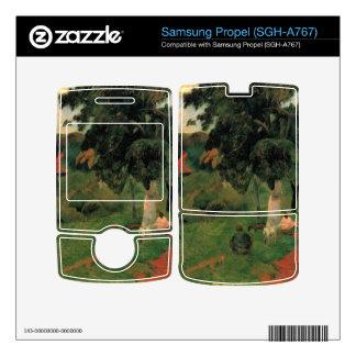 Hacia adelante y atrás por Eugène Enrique Paul Gau Skins Para Samsung Propel