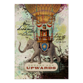 Hacia adelante y hacia arriba (poster)