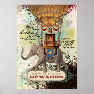 Hacia adelante y hacia arriba (poster) póster