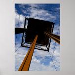 Hacia el cielo (cosechado) - JMA0069 Posters